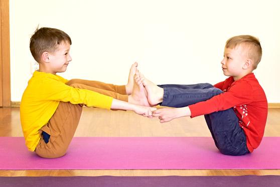 INNP cvičení s dětmi